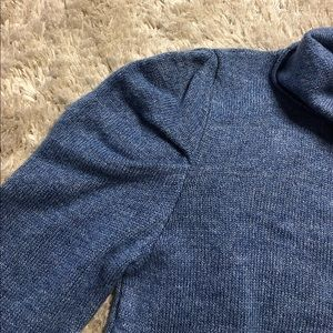 Top Shop Sweater with Pleated Shoulder Detail